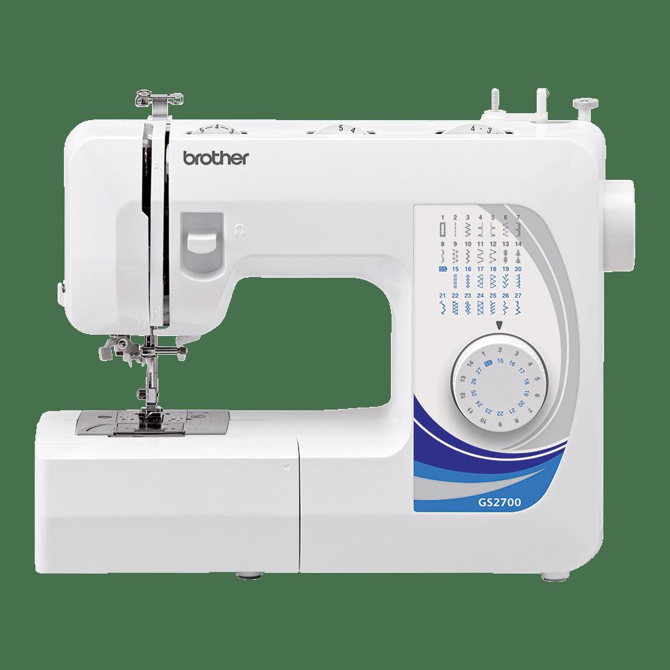 Электромеханическая швейная машина GS2700 вид спереди