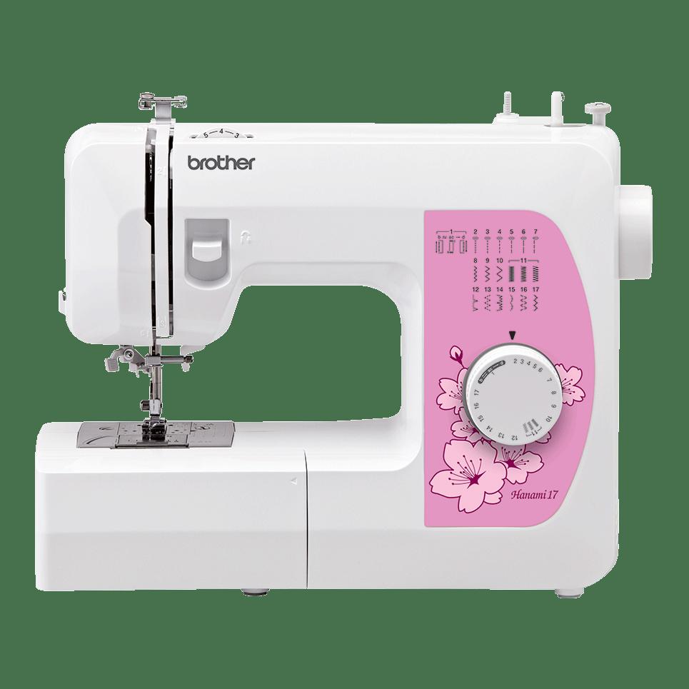 Электромеханическая швейная машина Hanami 17 вид спереди