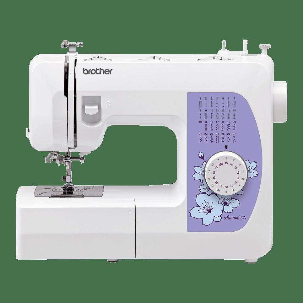 Электромеханическая швейная машина Hanami 27s вид спереди