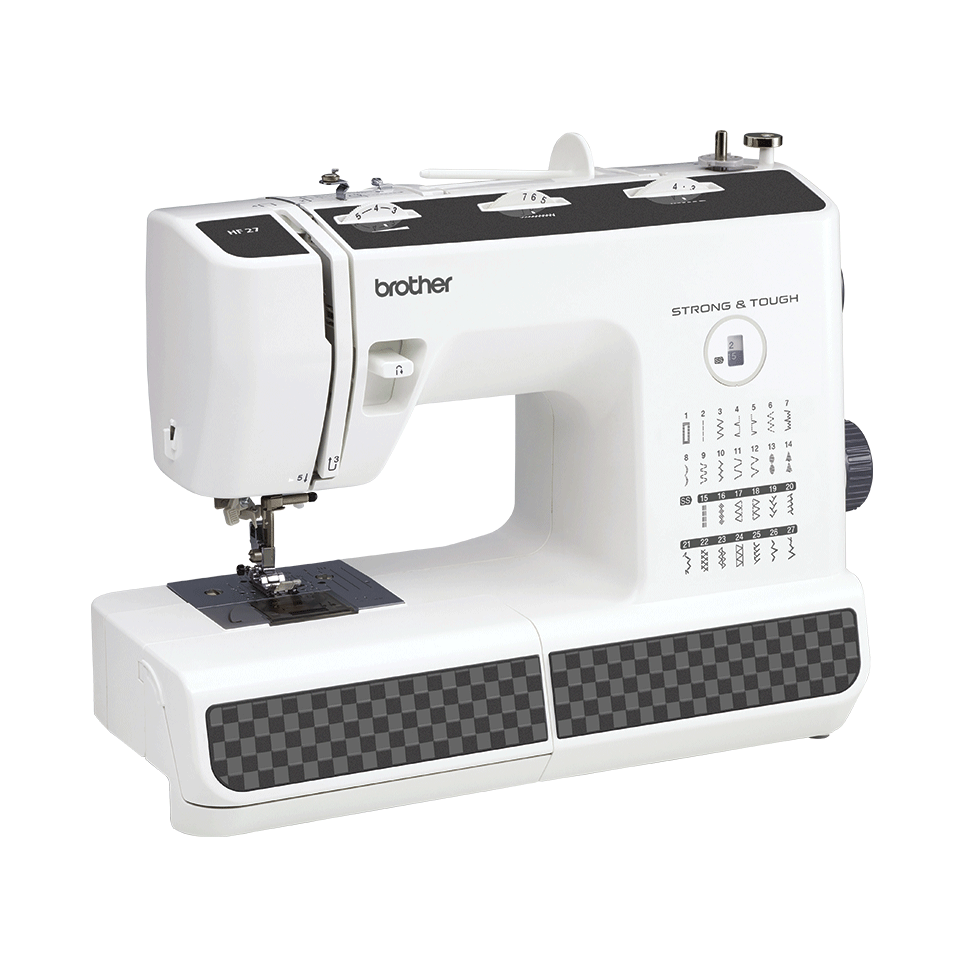 HF 27 электромеханическая швейная машина  6