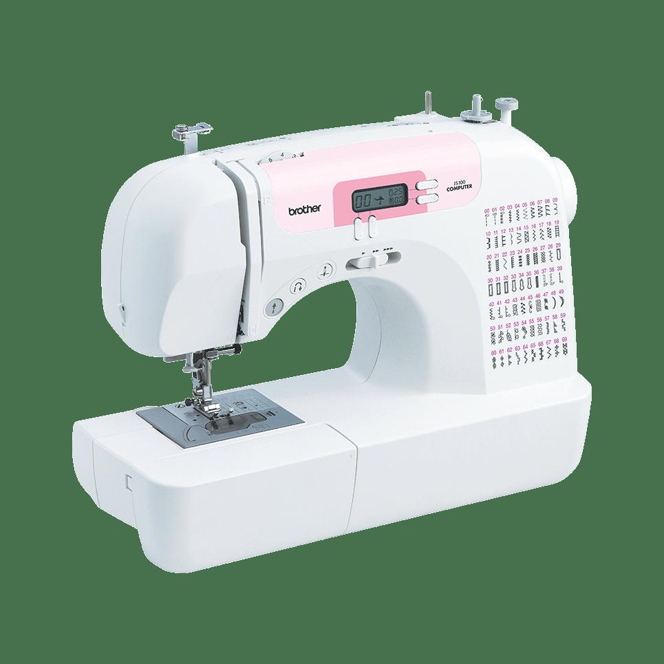 JS100 компьютеризованная швейная машина  8