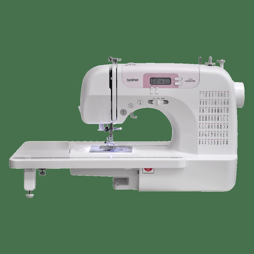 JS100 компьютеризованная швейная машина