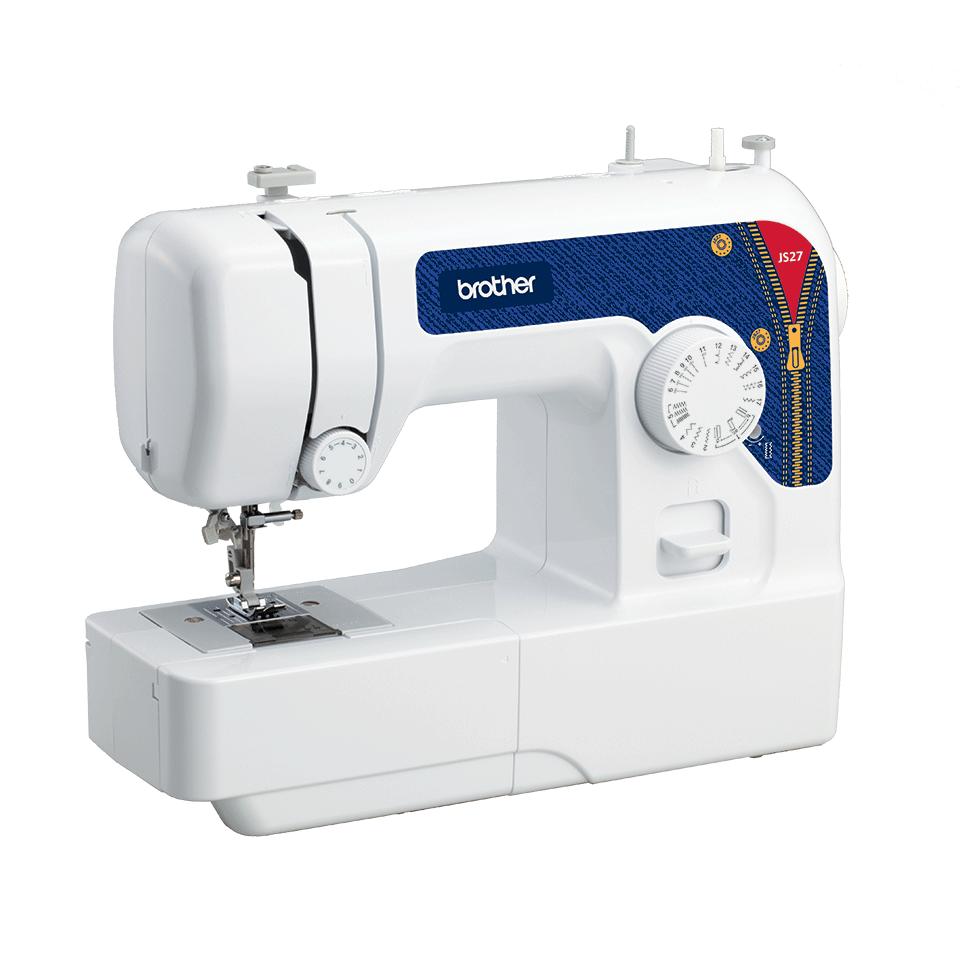 JS27 электромеханическая швейная машина  5