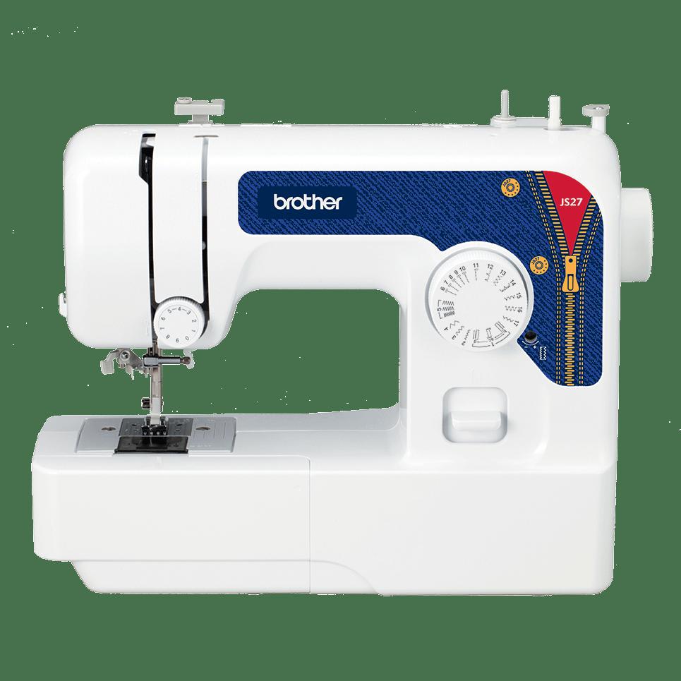 Электромеханическая швейная машина JS27 вид спереди