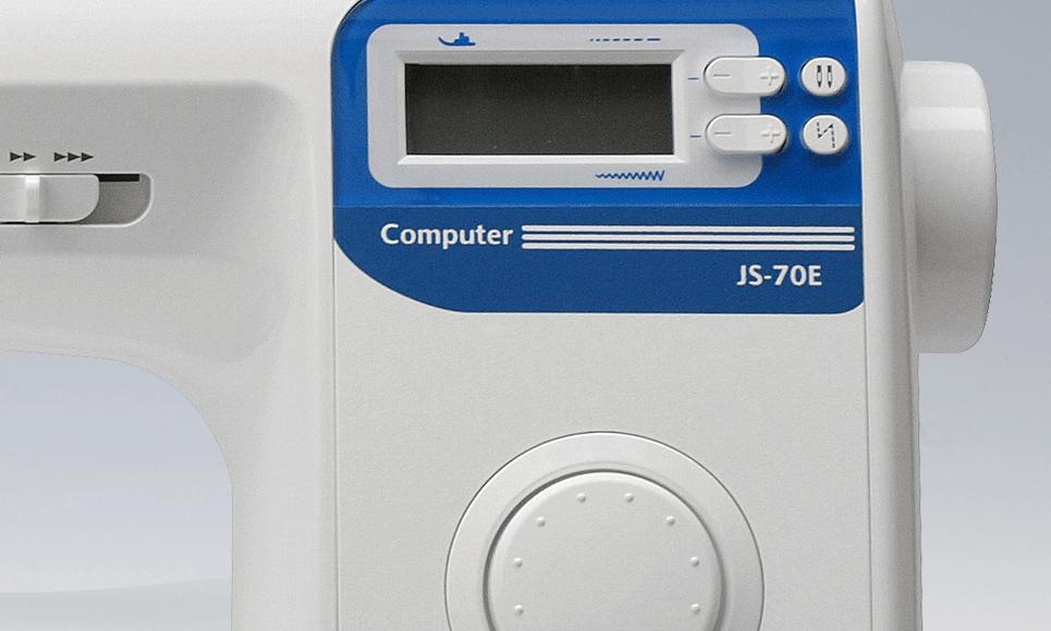 JS-70E компьютеризованная швейная машина 8