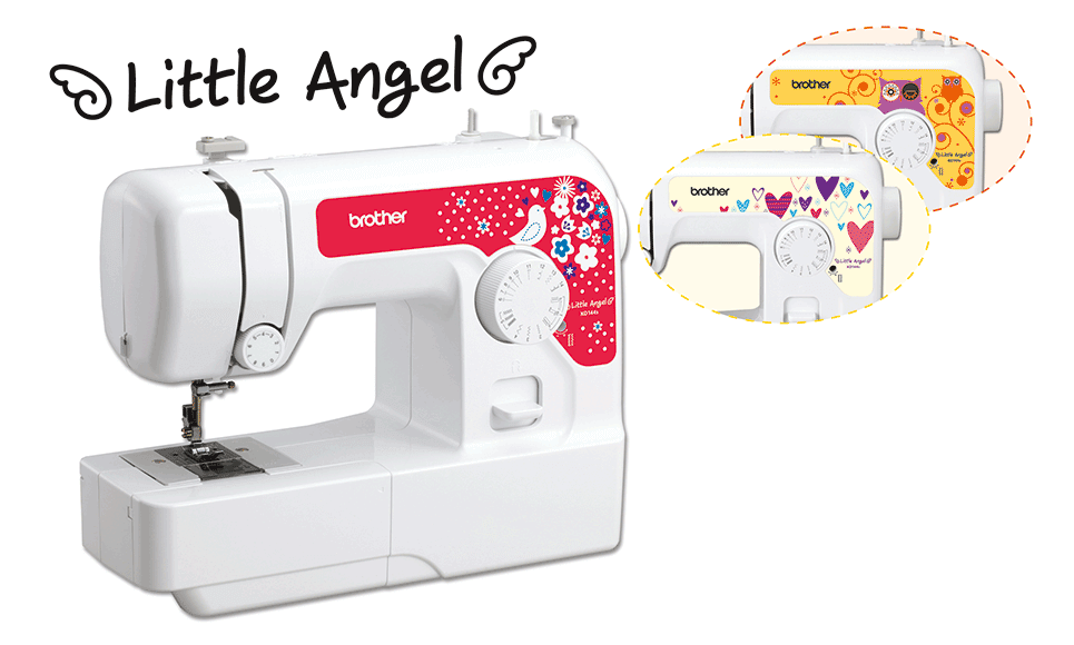KD144S Little Angel Nähmaschine 6