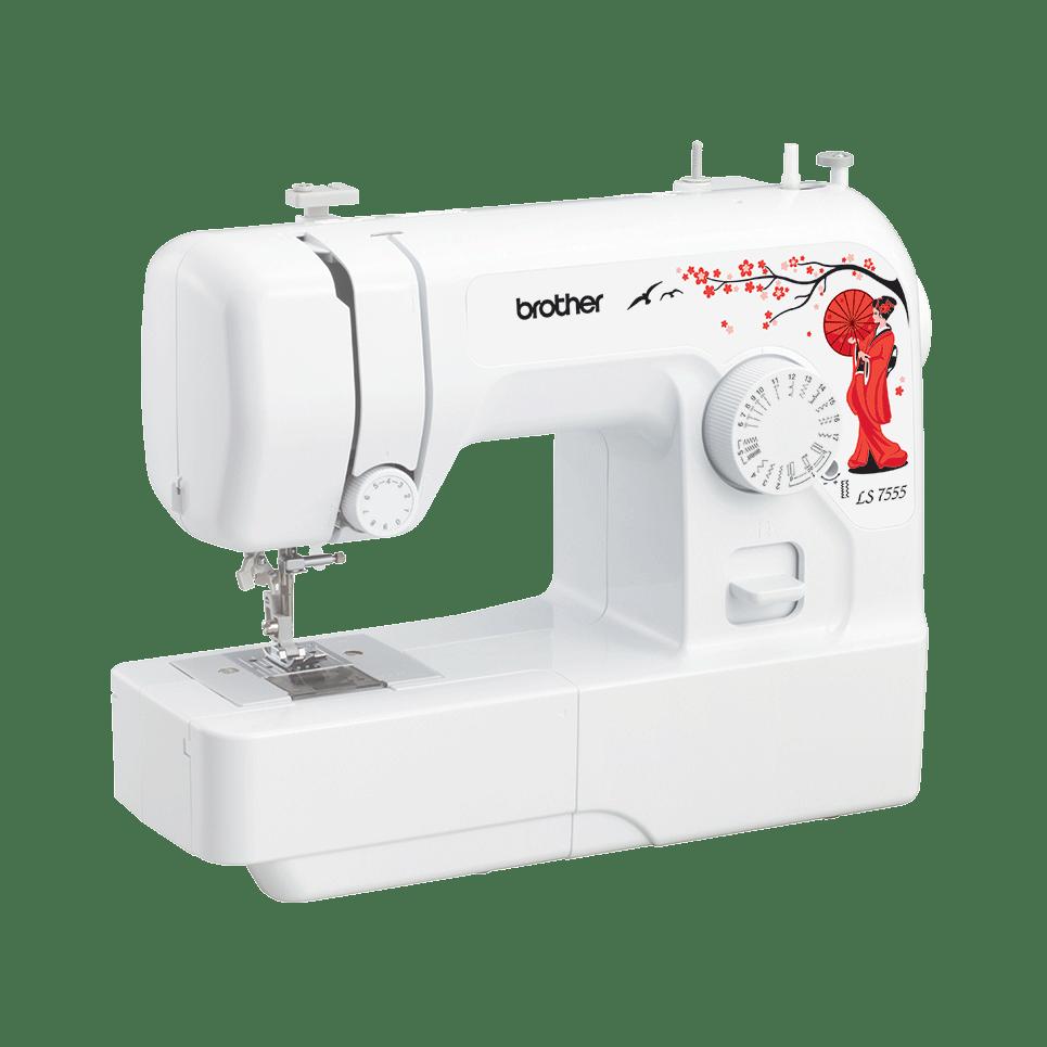 LS 7555 электромеханическая швейная машина  5