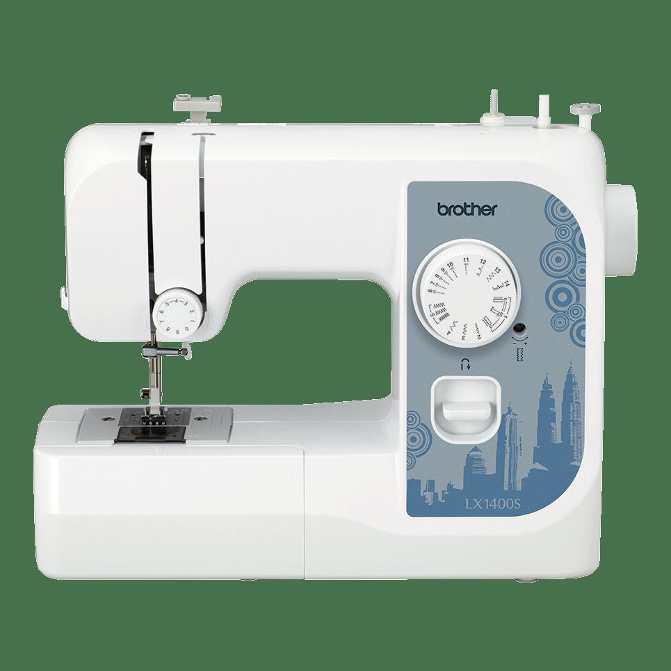 Электромеханическая швейная машина LX1400S вид спереди
