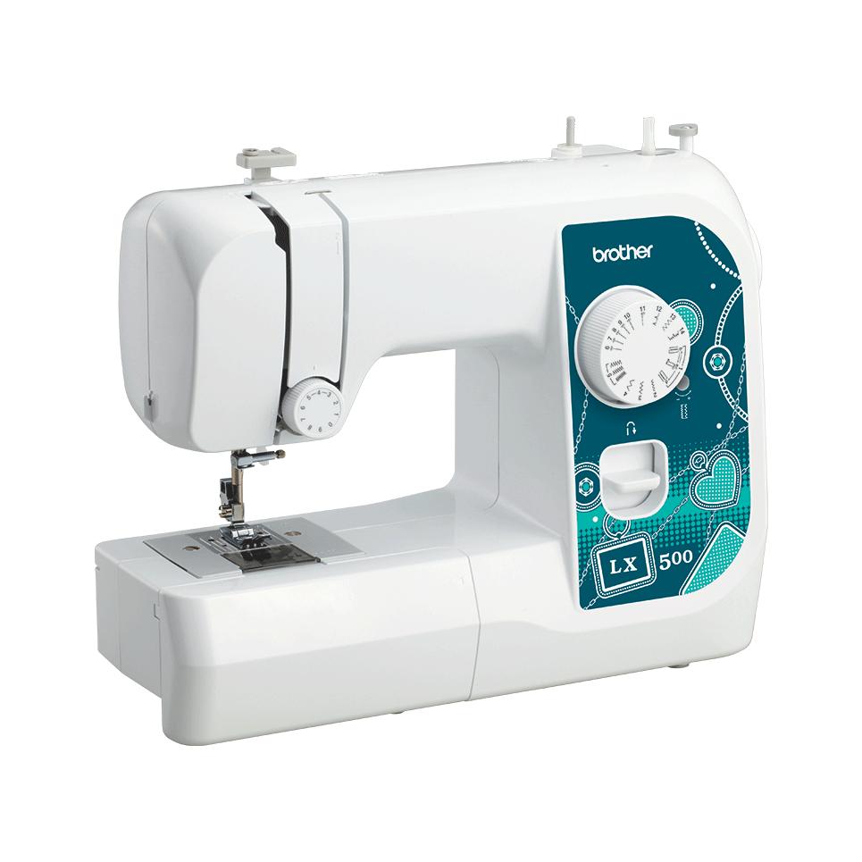 LX500 электромеханическая швейная машина  5