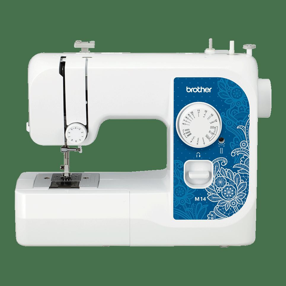 Электромеханическая швейная машина M14 вид спереди