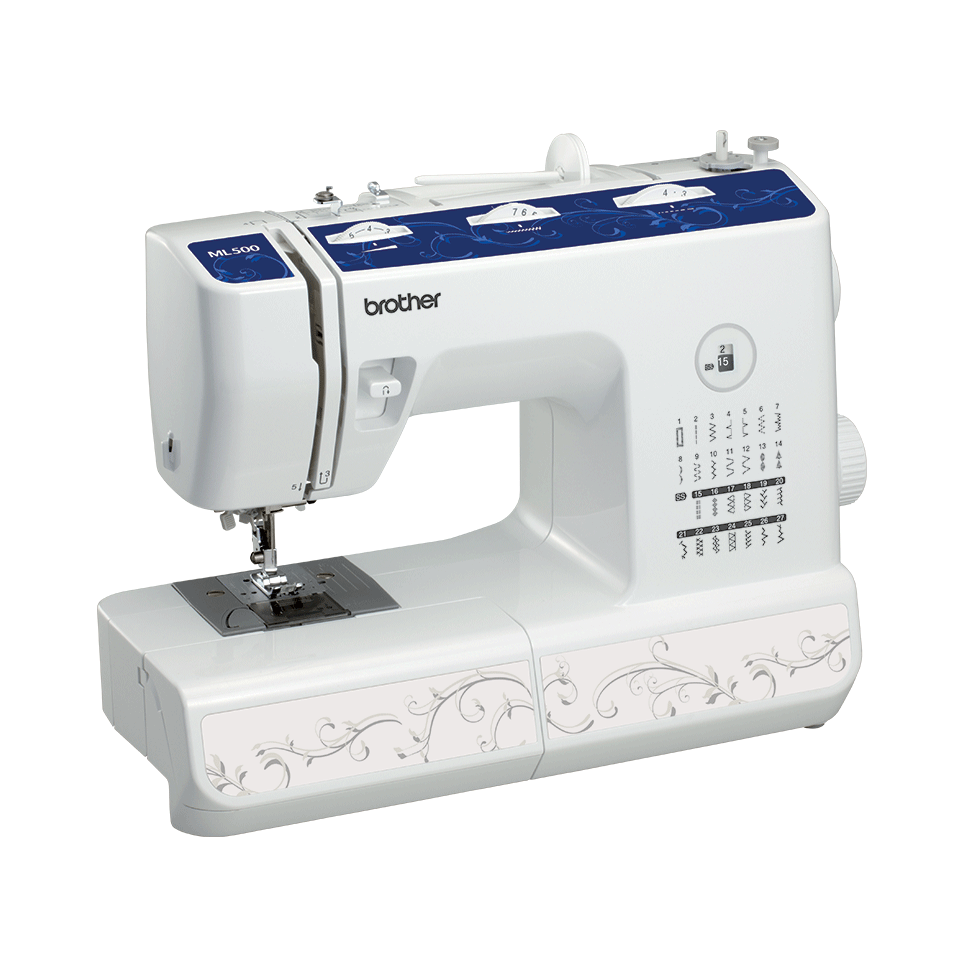 ML 500 электромеханическая швейная машина  6
