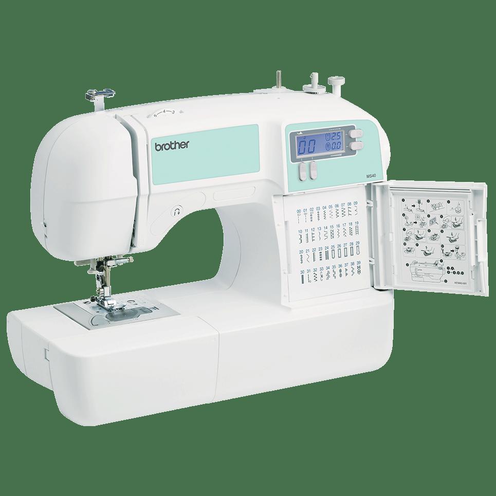 MS40 компьютеризованная швейная машина  8