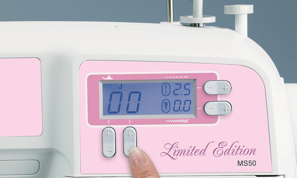 MS50 компьютеризованная швейная машина  3