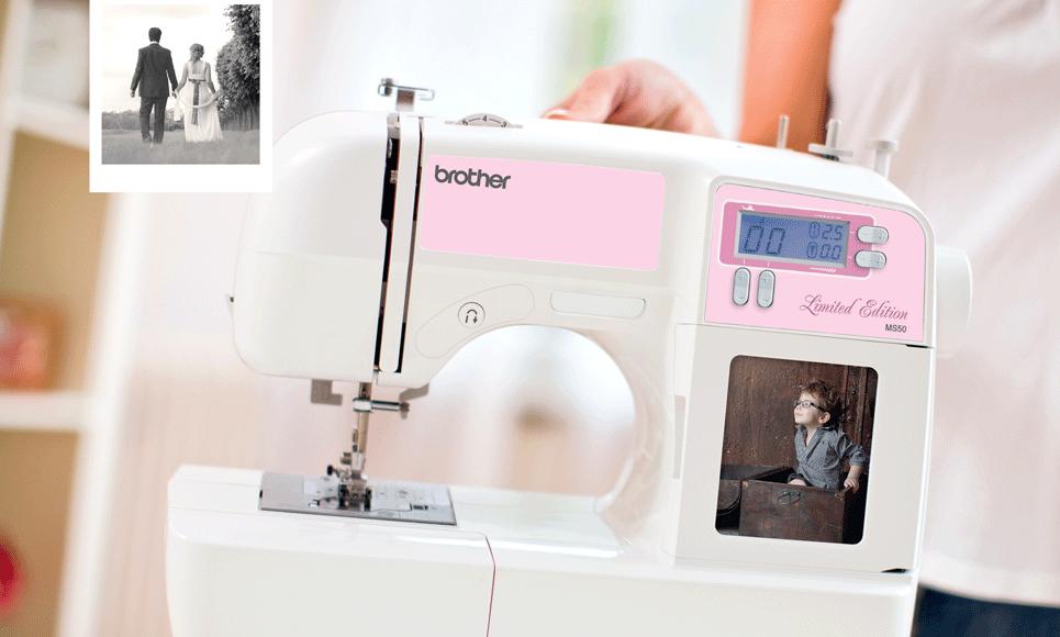 MS50 компьютеризованная швейная машина  7