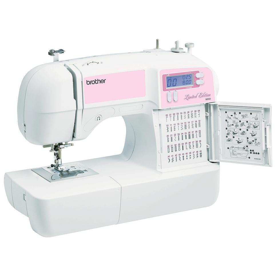 MS50 компьютеризованная швейная машина  8