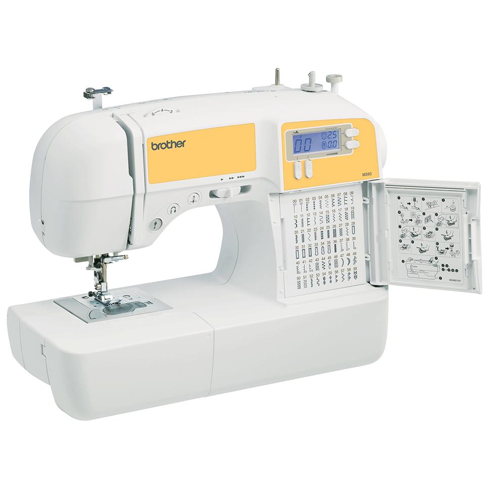 MS60 компьютеризованная швейная машина  8