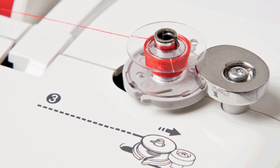Innov-is 25 компьютеризованная швейная машина  6