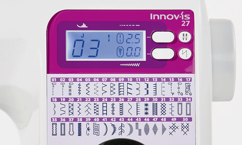 Innov-is 27SE sewing machine 6