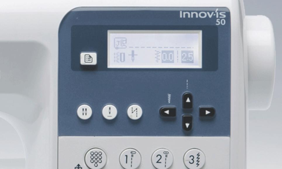 Innov-is 50 компьютеризованная швейная машина  8