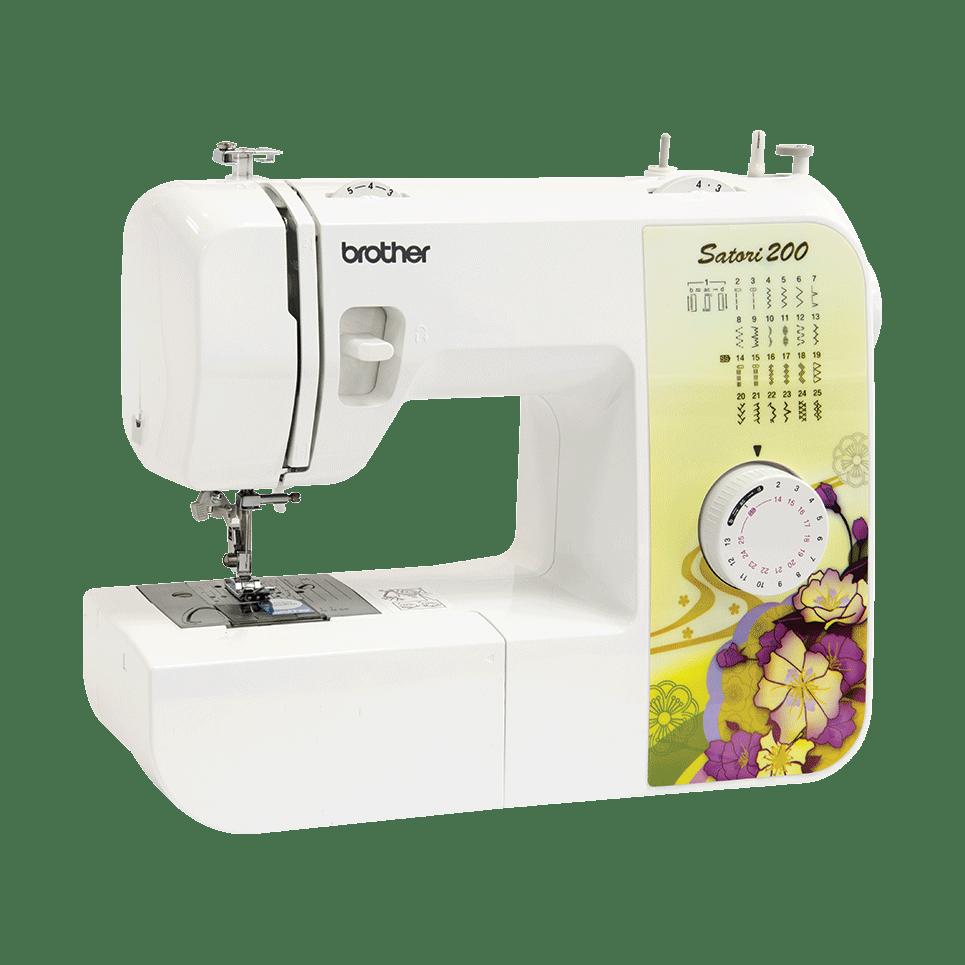 Электромеханическая швейная машина Satori 200 вид спереди