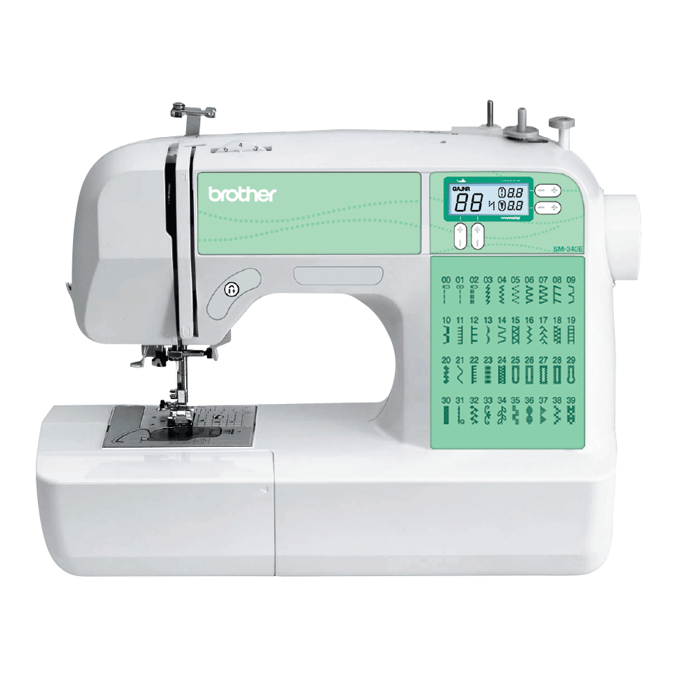SM-340E компьютеризованная швейная машина
