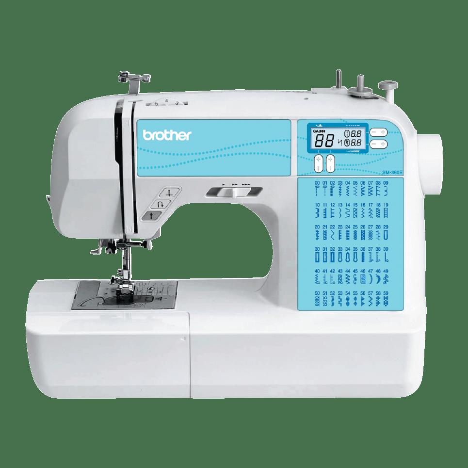 SM-360E компьютеризованная швейная машина