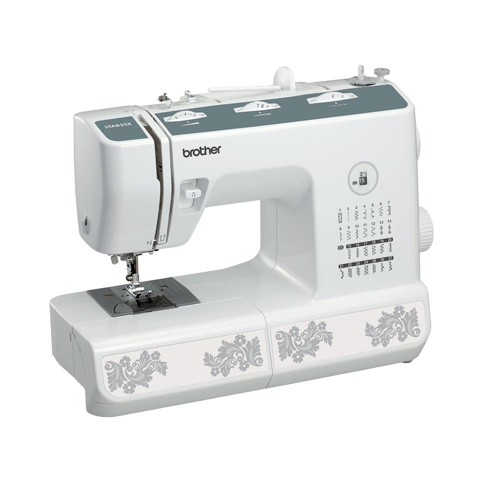 STAR 55X электромеханическая швейная машина  6