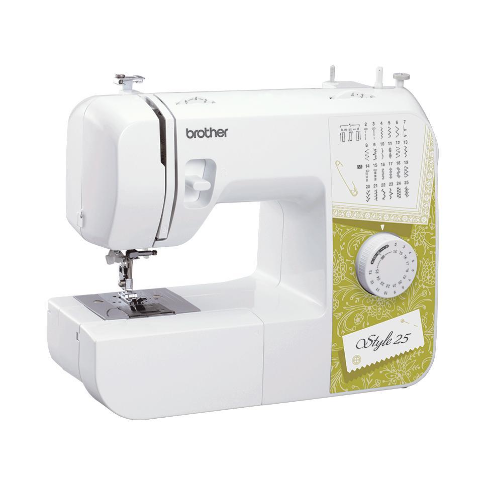 Style 25 электромеханическая швейная машина  2