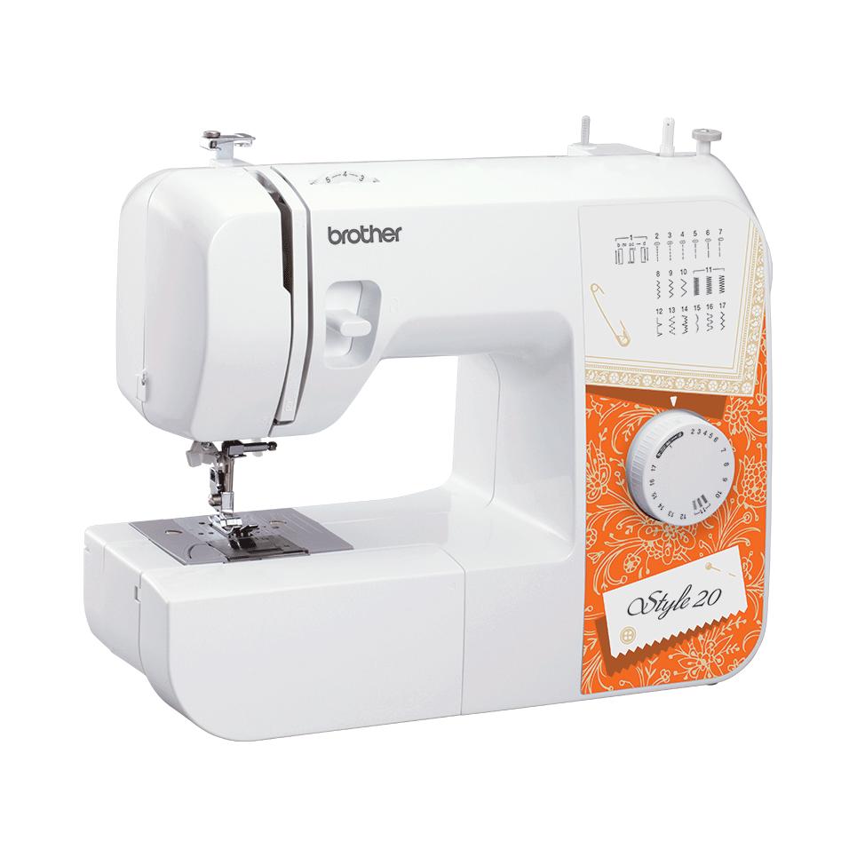 Style 20 электромеханическая швейная машина  5