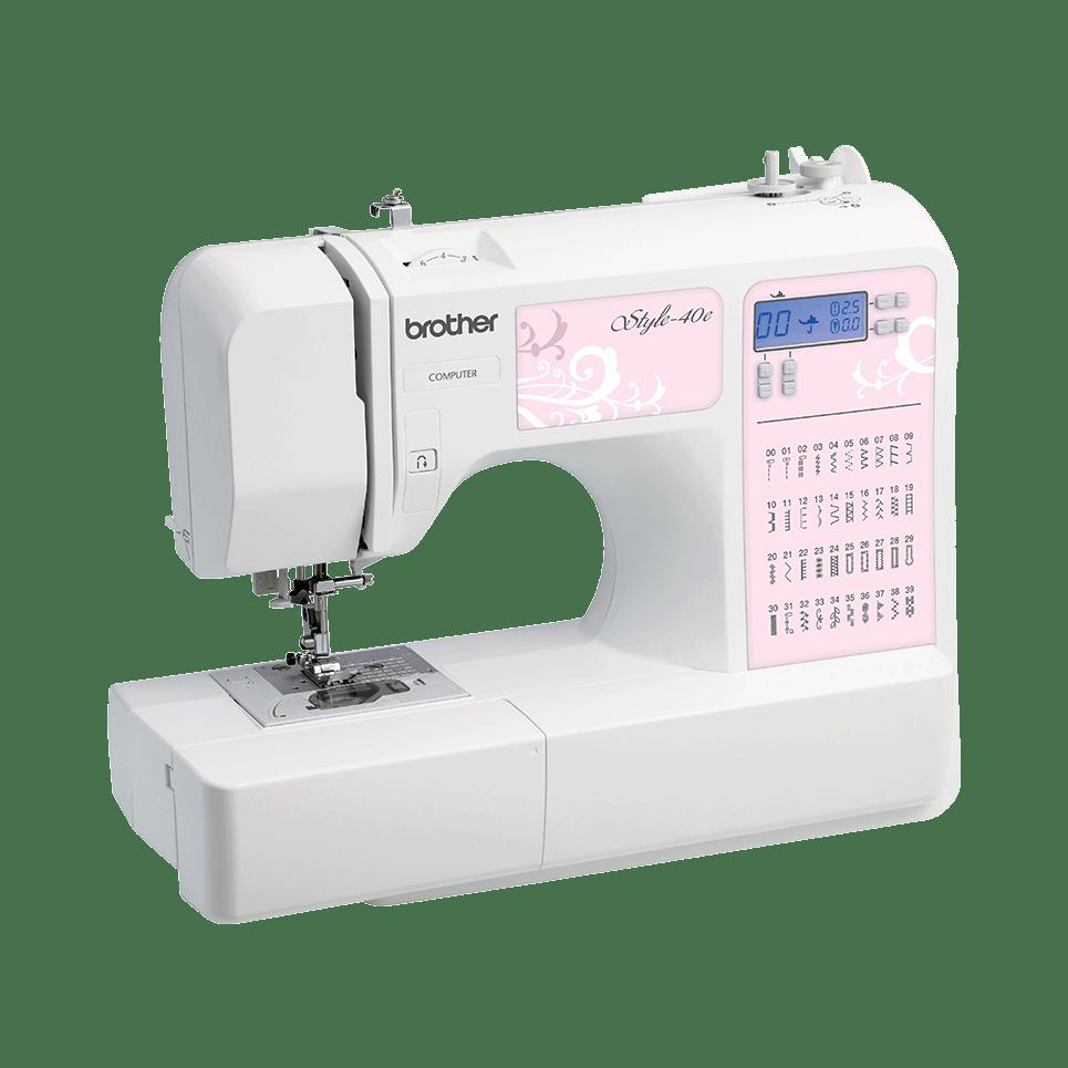 Style-40e компьютеризованная швейная машина