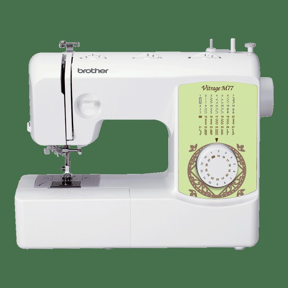 Электромеханическая швейная машина Vitrage M77 вид спереди