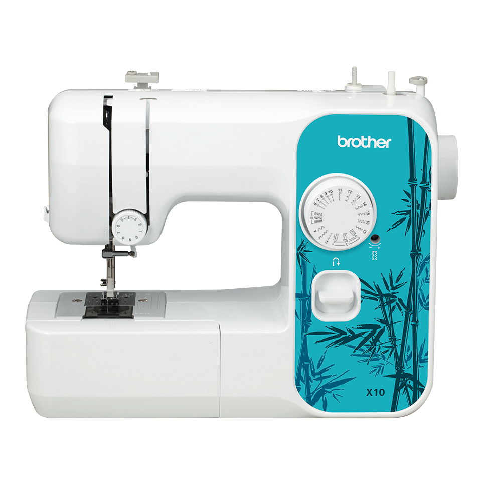 Электромеханическая швейная машина X10 вид спереди