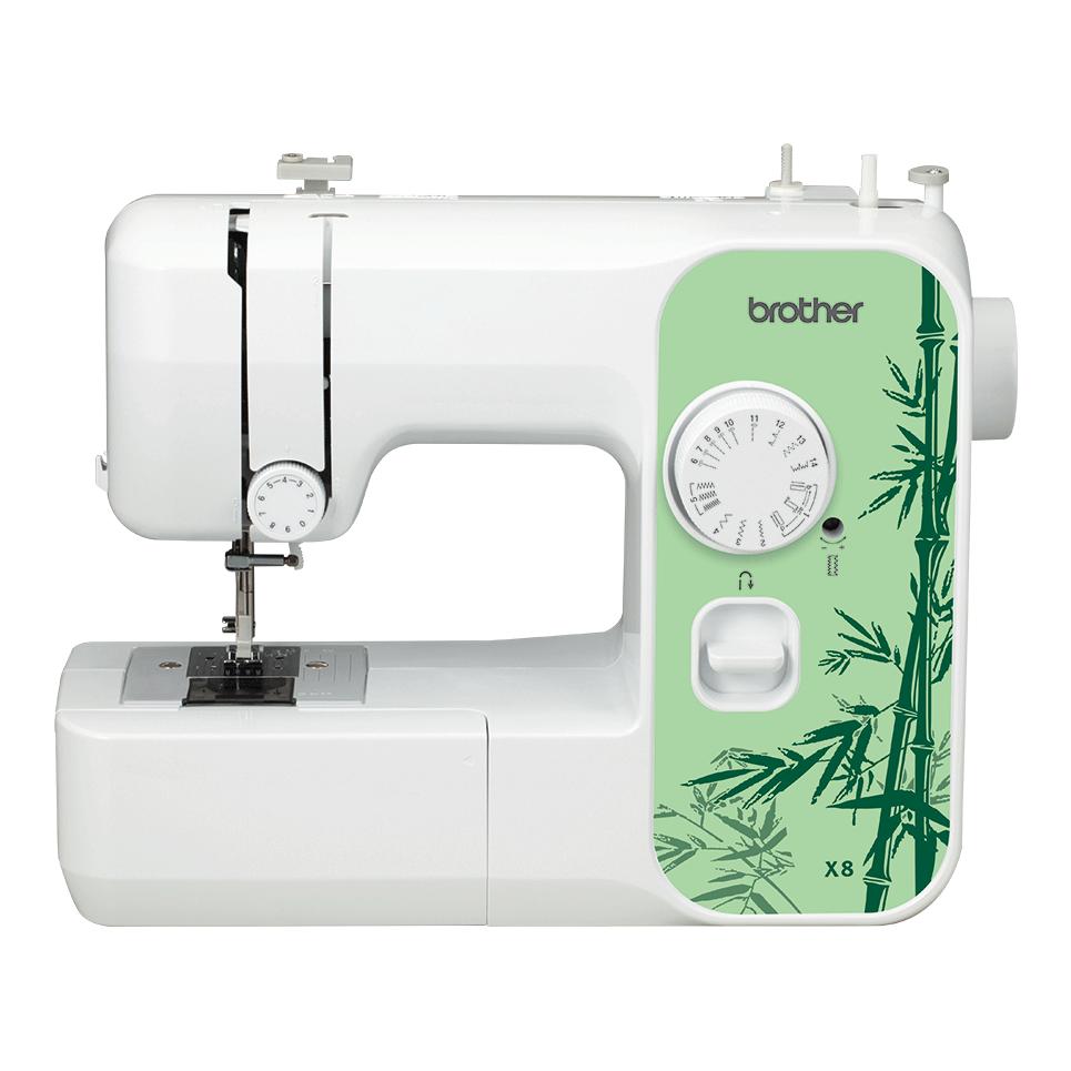 Электромеханическая швейная машина X8 вид спереди